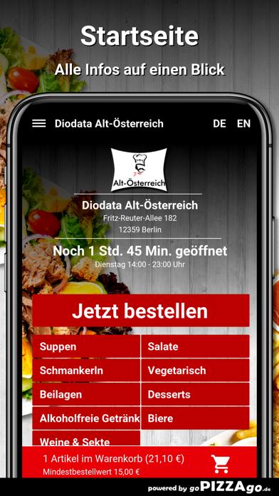 Diodata Alt-Österreich Berlin screenshot 2
