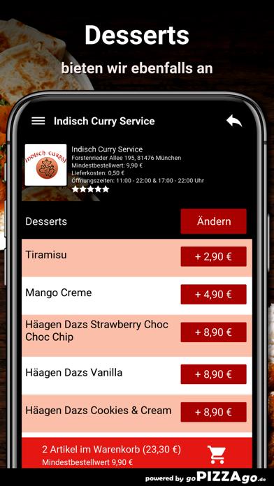 Indisch-Curry Service München screenshot 6