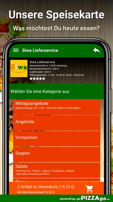 Siwa Lieferservice Hamburg screenshot 4