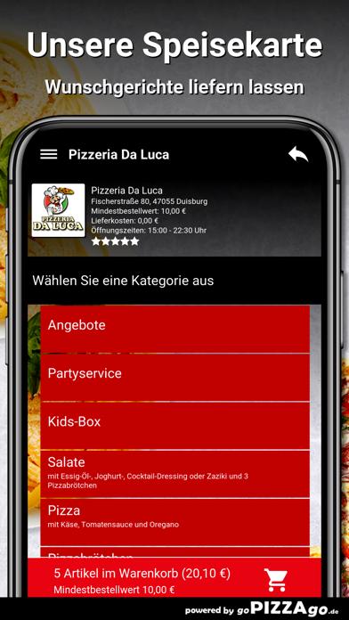 Pizzeria Da Luca Duisburg screenshot 4