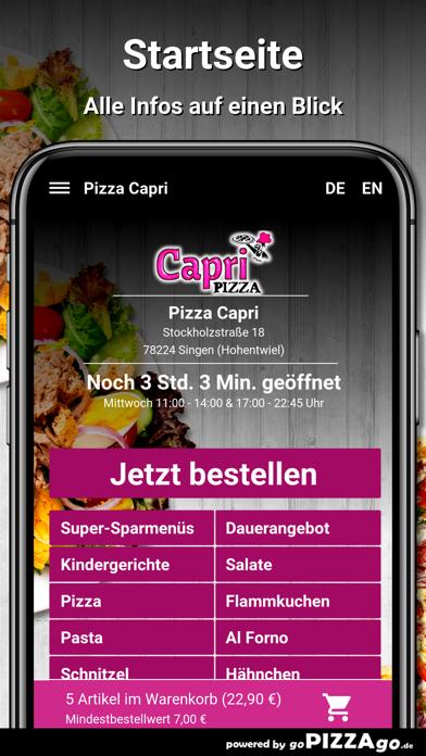 Capri Singen (Hohentwiel) screenshot 2