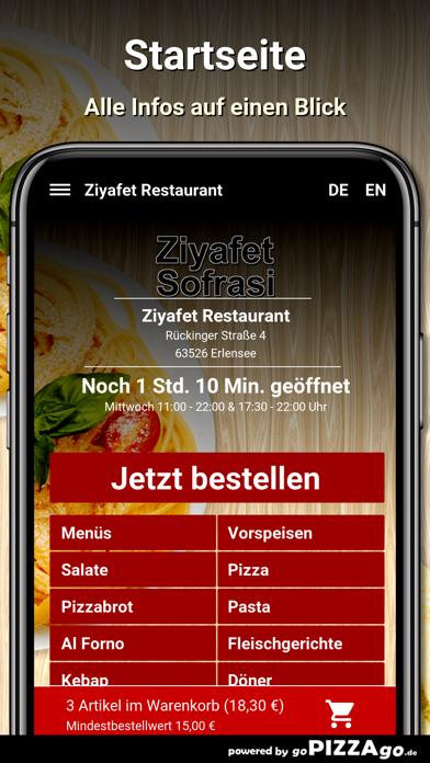 Ziyafet Restaurant Erlensee screenshot 2