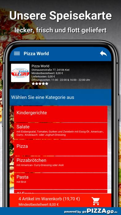 Pizza World Kiel screenshot 4