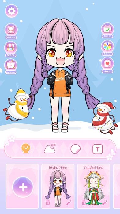 Anna Doll - Dress Up Game screenshot 1