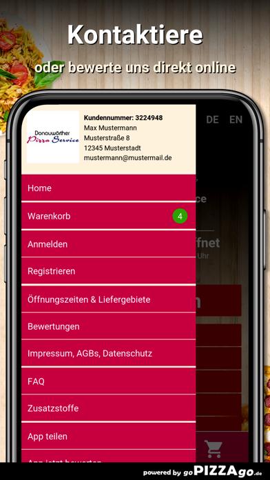 Donauwörther Pizza Donauwörth screenshot 3