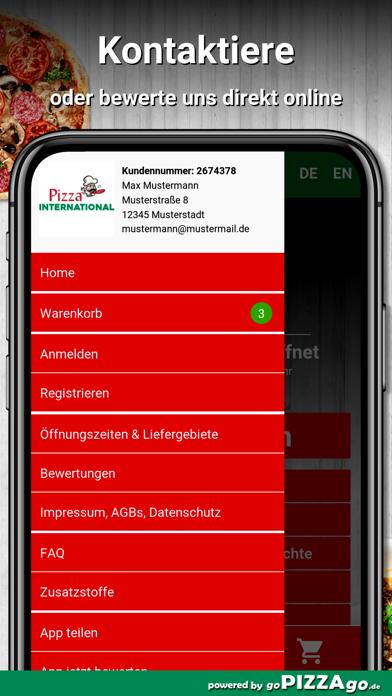 Pizza International Meiningen screenshot 3
