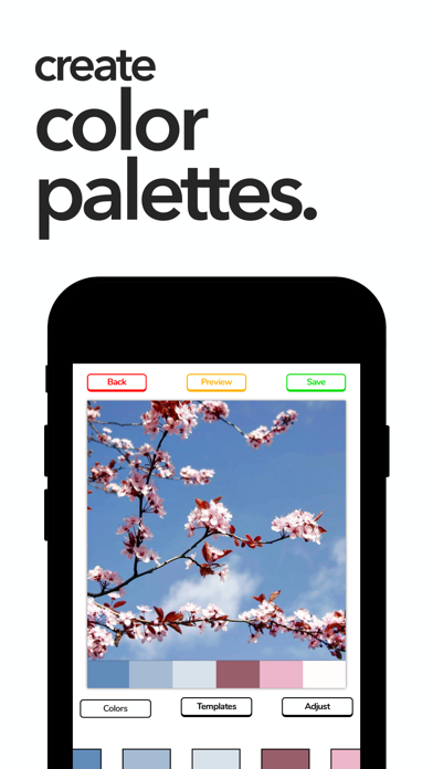 ColorPalette: Swatch Maker screenshot 1