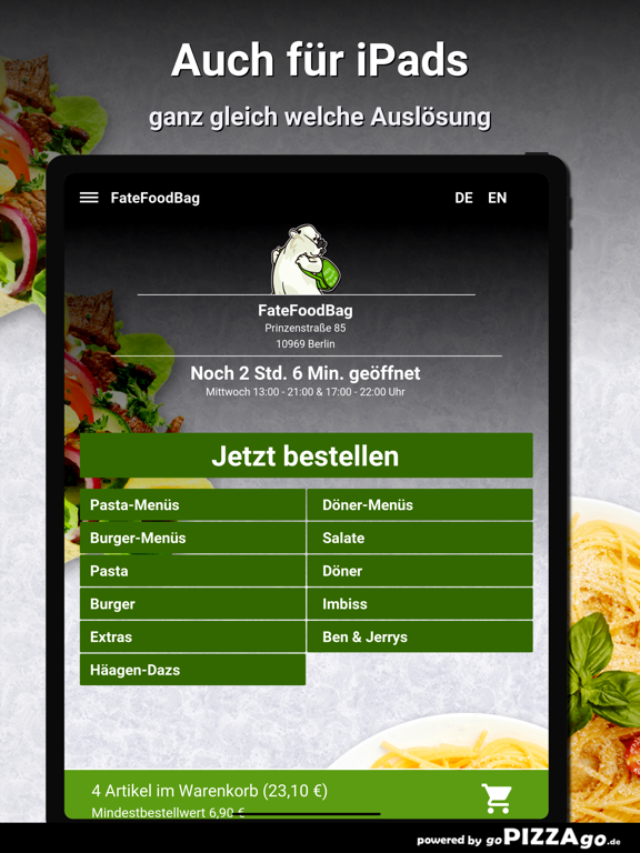 FateFoodBag Berlin screenshot 7