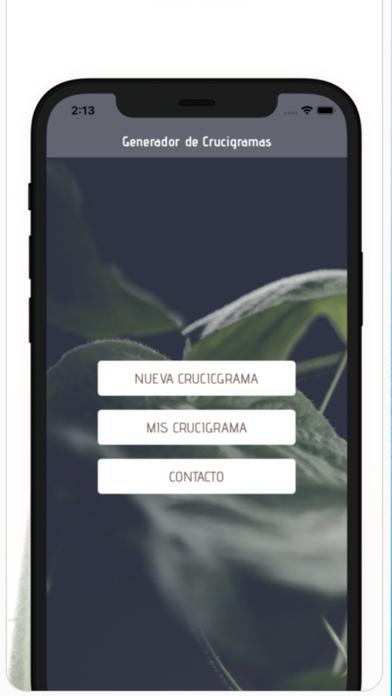 Generador Crucigrama screenshot 1