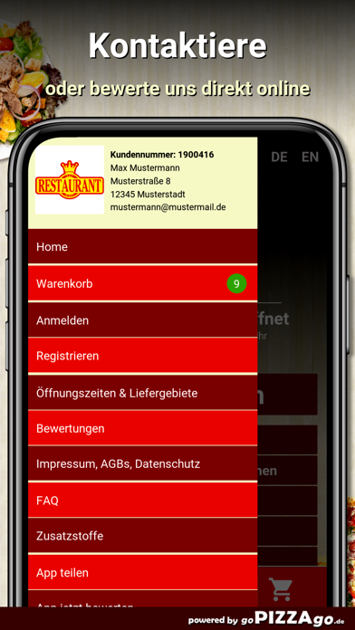 Day-Night Pizza Hof screenshot 5