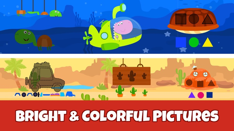 Toddler Puzzle Games for Kids~ screenshot-5