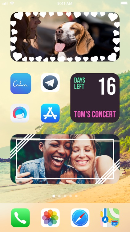 Widget | Countdown & photo screenshot-3