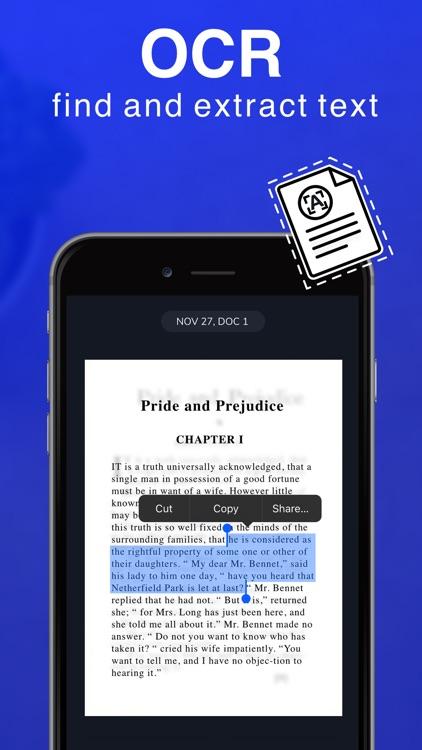 Scanner App - PDF Editor screenshot-3