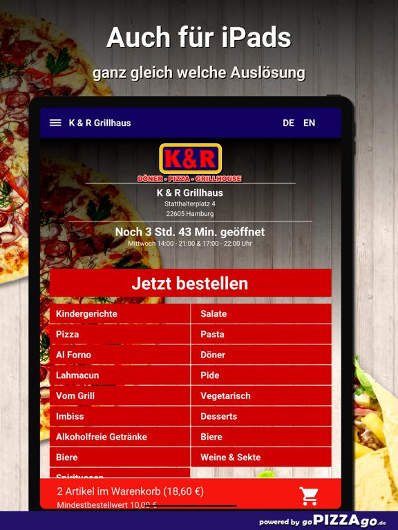 K & R Grillhaus Hamburg screenshot 7