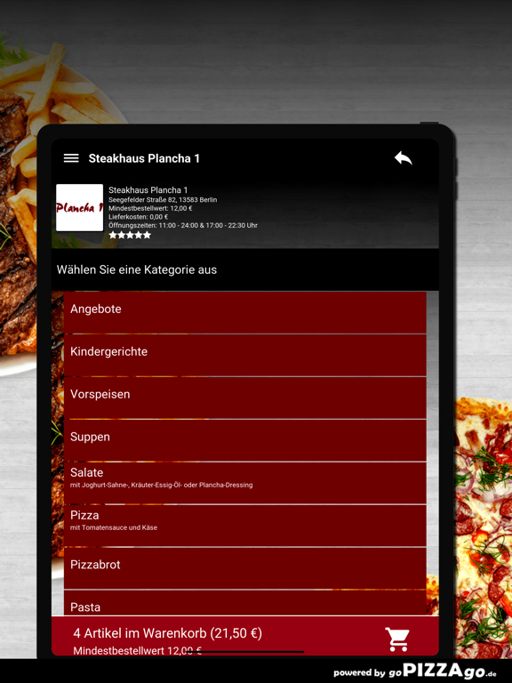 Steakhaus Plancha 1 Berlin screenshot 8
