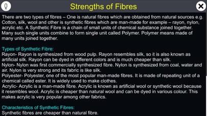 Strengths of Fibres screenshot 1