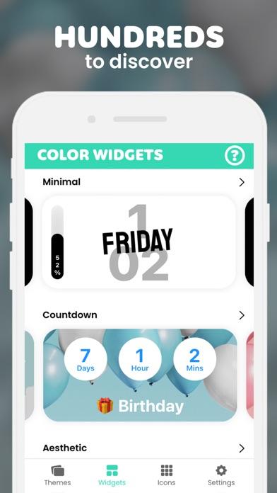 Color Widgets screenshot 5