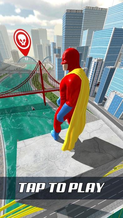 Super Hero Flying School! screenshot 1