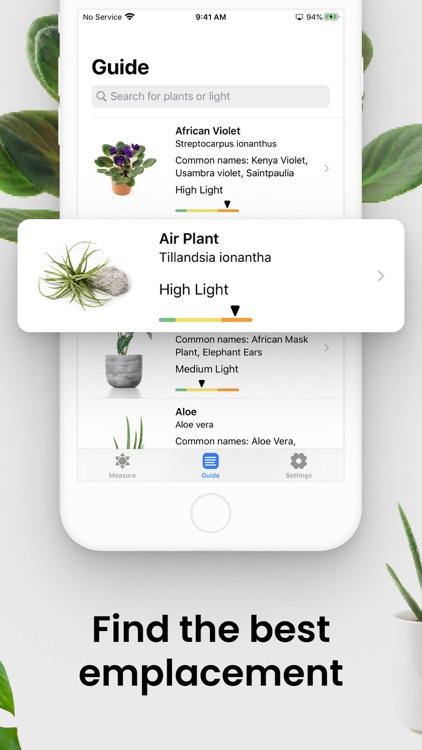 Plant Light Meter screenshot-1