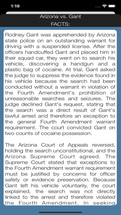 Case Law Studies