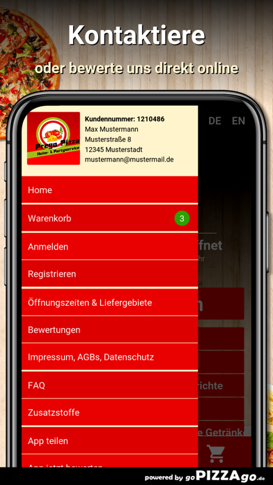 Prego Pizza München screenshot 3