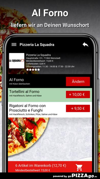 Pizzeria La Squadra Weinstadt screenshot 6