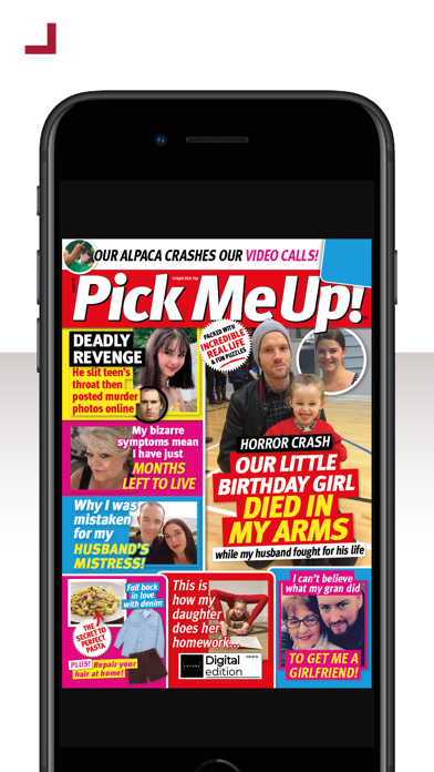 Pick Me Up! MagazineScreenshot of 1