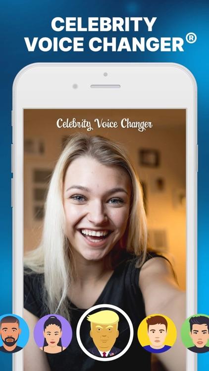 Celebrity Voice Changer Parody screenshot-3