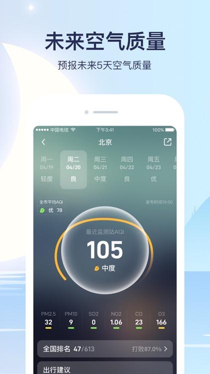 天气预报-精准15日天气预报 screenshot-7