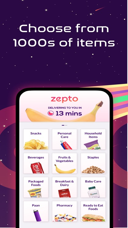 Zepto: 10 Min Grocery Delivery