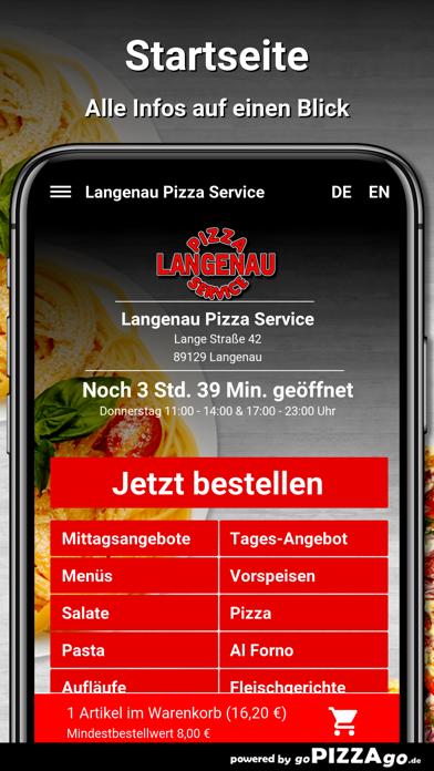 Langenau Pizza Service Langena screenshot 2