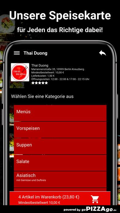Thai Duong Berlin Kreuzberg screenshot 4