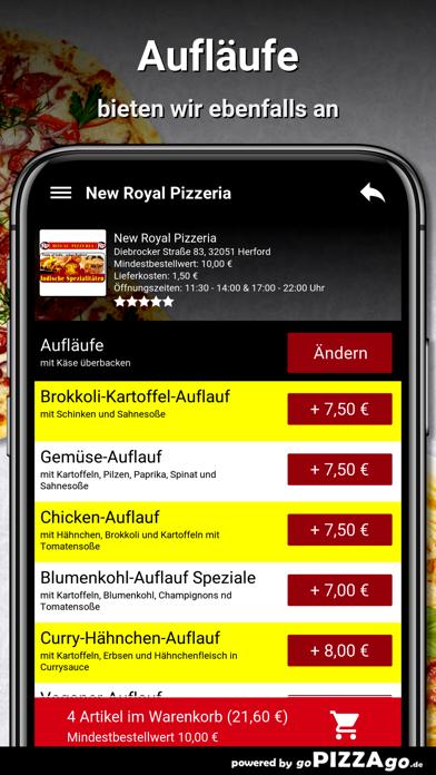New Royal Pizzeria Herford screenshot 6