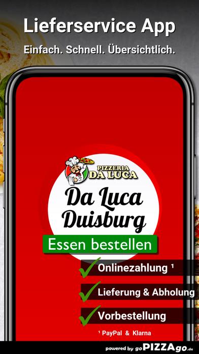 Pizzeria Da Luca Duisburg screenshot 1