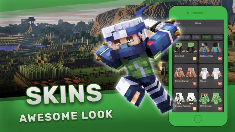 Mods & Skins for Minecraft PE