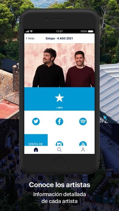 Cap Roig FestivalCaptura de pantalla de3