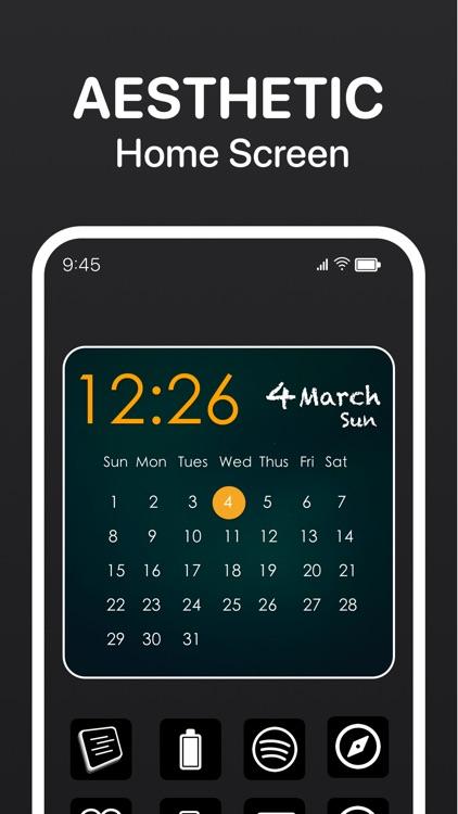Calendar Widget - Date Widgets screenshot-3