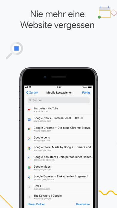 Google ChromeScreenshot von 9