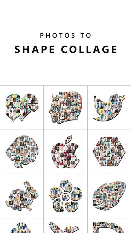 Photo Blend & Shape Collage