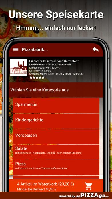 Pizzafabrik Darmstadt screenshot 4
