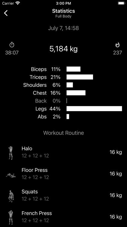 Kettlebell Home Workout