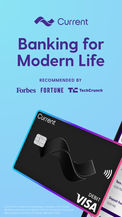 Current - Modern Banking screenshot-0