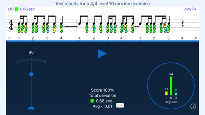 Rhythm Sight Reading Trainer