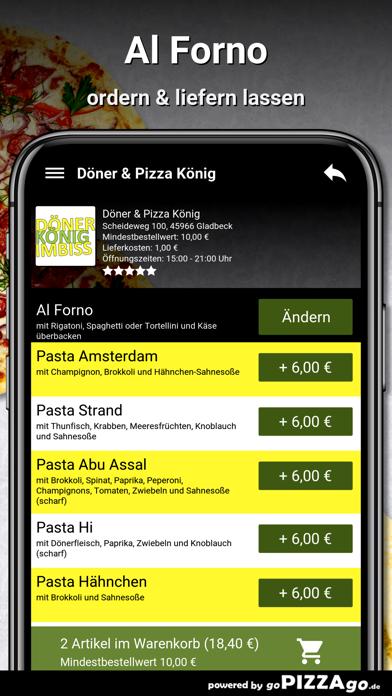 Döner & Pizza König Gladbeck screenshot 6