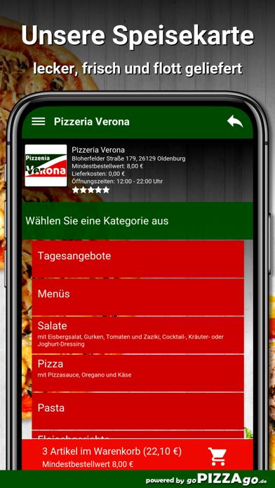 Pizzeria Verona Oldenburg screenshot 4