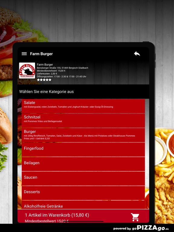 Farm Burger Bergisch Gladbach screenshot 7