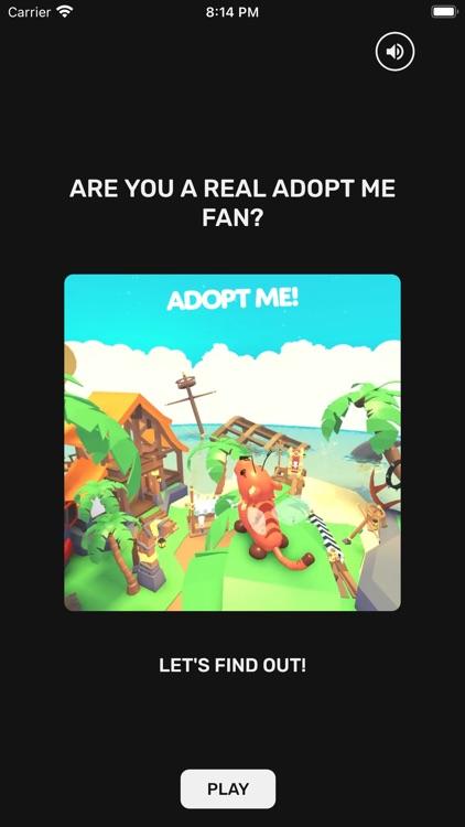 Adopt Me Egg & Pet Quiz