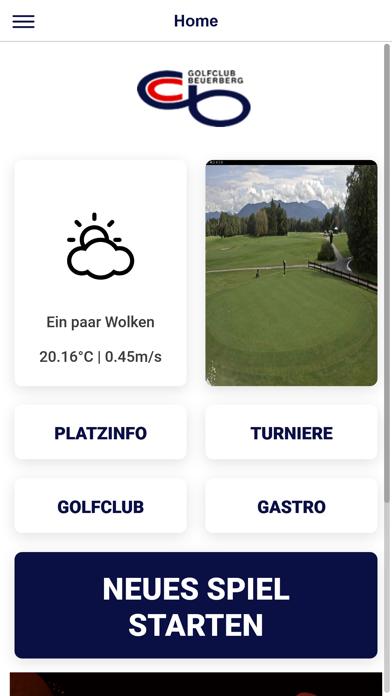 Clubapp GC Beuerberg screenshot 1