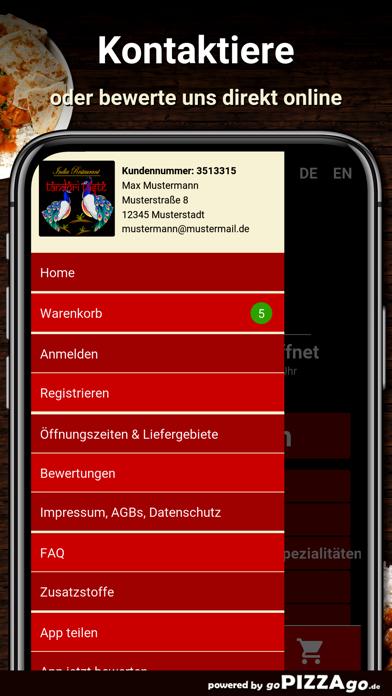 Tandoori Taste Frankfurt screenshot 3