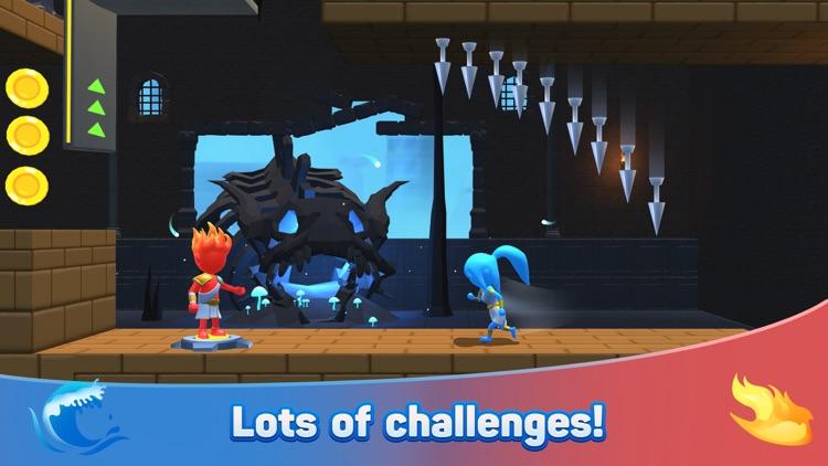 Water & Fire Stickman 3D screenshot-4